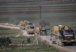 150 araçlık konvoy sınırı geçti
