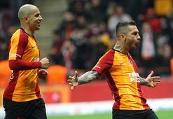 Galatasaray, ikinci yarıda farkı kapatıp şampiyonluk yarışına ortak oldu