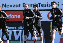 Beşiktaşta Ljajic ve Nkoudou idmana katılmadı