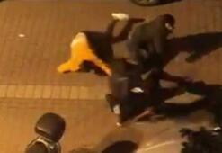 Avcılarda sopalı, sandalyeli kavga kamerada