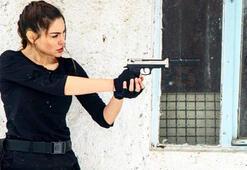 Gaye Turgut Evin yeni Lara Croft oldu