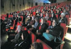 Kadın Meclisi'nden 500 kadına film keyfi
