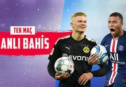 Dortmund-PSG maçı canlı bahisle Misli.comda