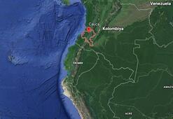 Kolombiyada minibüste patlama