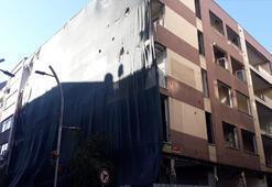 Bakırköyde 8 ay önce boşaltılan bina yıkılmayı bekliyor