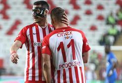 Antalyasporda 3 puan mutluluğu