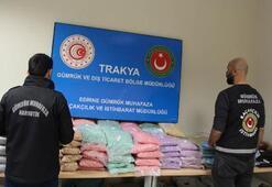 100 milyon lira değerinde uyuşturucu ele geçirildi