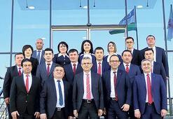 Ziraat Bank, Özbekistan'da  4. şubeyi Semerkant'ta açtı