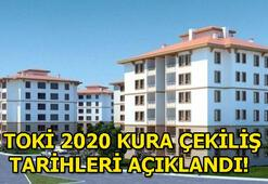 TOKİ kuralarının çekileceği tarihler açıklandı 2020 TOKİ, İstanbul, Ankara, İzmir kura çekiliş tarihleri...