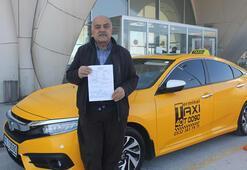 Kaçak göçmen taşıyan taksi şoförüne 6 bin 936 TL ceza