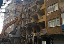 43 yıllık Gonca apartmanı yıkılıyor