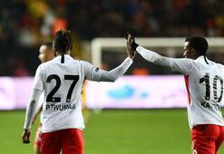 Gaziantep FKde gollere orta saha ve defanstan büyük katkı