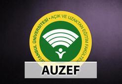AUZEF sınav sonuçları açıklandı mı Bütünleme sonuçları ne zaman açıklanır