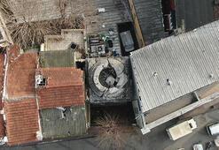 İstanbulda iki bina arasında sıkışan 16 asırlık tarih