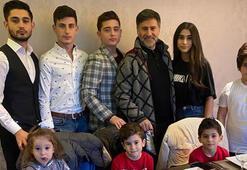 İzzet Yıldızhan ikiz çocuklarının doğum gününü kutladı