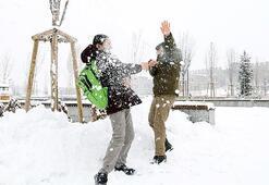 Eğitime kar engeli Tatil edildi