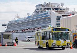 Japonyada karantinaya alınan gemideki 2 kişi Kovid-19 nedeniyle öldü