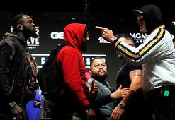 Deontay Wilder ve Tyson Fury dev maç öncesi birbirine girdi