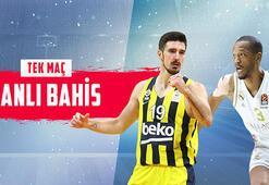 Fenerbahçe Beko - Real Madrid maçı canlı bahis heyecanı Misli.comda