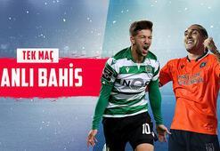 Sporting - Başakşehir maçı canlı bahis heyecanı Misli.comda