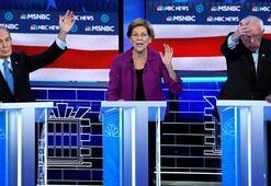 Demokrat adaylar kozlarını paylaştı, Bloomberg ilk kez sahne aldı
