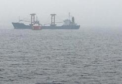 Son dakika: Çanakkale Boğazında Palau bayraklı gemide yangın