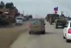 Suriyede ABD ve Rus askeri araçları arasında yol kapma çabası
