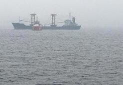 Çanakkale Boğazında Palau bayraklı gemide yangın