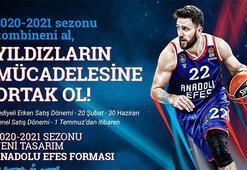 Anadolu Efesin 2020 - 2021 sezonu kombineleri satışta