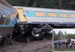 Avustralya'da tren raydan çıktı: 2 ölü