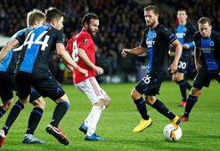 Manchester United, Club Bruggeü yıkamadı