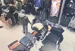 İstanbulda mağazada elbise deneyen müşteriye şok