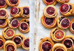 Portakallı ve bitter çikolatalı çörek tarifi