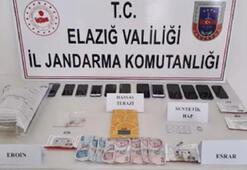 Elazığda uyuşturucu operasyonunda 18 tutuklama