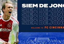 Cincinnati, Ajaxtan ayrılan Siem de Jongu transfer etti