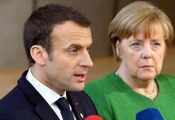 Macron ve Merkelden İdlibde ateşkes çağrısı