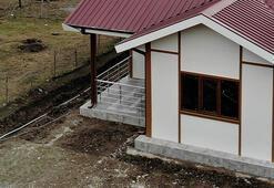 İlk örnek ev teslim edildi Artık evler böyle olacak...