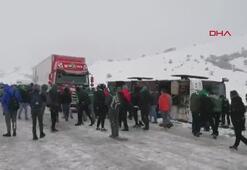 Son dakika   Bursaspor taraftarını taşıyan otobüs devrildi