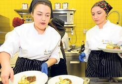 Meslek liseli aşçılar  yetenek yarışında