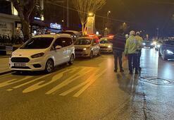 Dünkü kazanın ardından Bağdat Caddesinde trafik denetimi