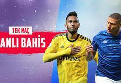 Arsenal - Everton maçı canlı bahisle Misli.comda