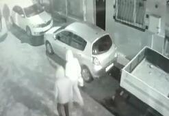 Fatihte otomobilleri kundaklayan şüpheliler böyle görüntülendi