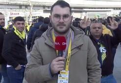Fenerbahçeli taraftarlar derbiyi bekliyor