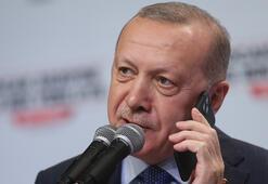 Erdoğandan ilçe kongresine sürpriz telefon
