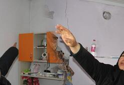 Konyadaki depremin ardından evlerde inceleme yapıldı
