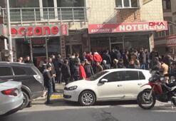 İstanbulda nöbetçi noter kuyruğu...
