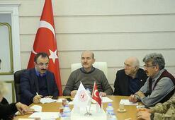 İçişleri Bakanı Soylu Deprem Kriz Merkezinde