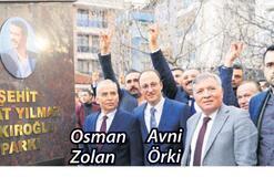 Çakıroğlu'nun ismi parkta ölümsüzleşti