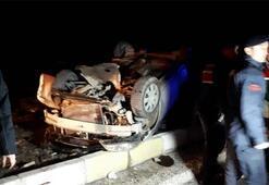 Son dakika | Denizlide feci kaza Yolcu otobüsü ile otomobil çarpıştı
