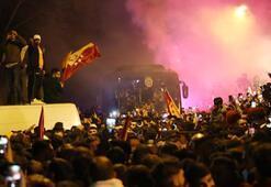 Floryada Galatasaraya coşkulu karşılaşama